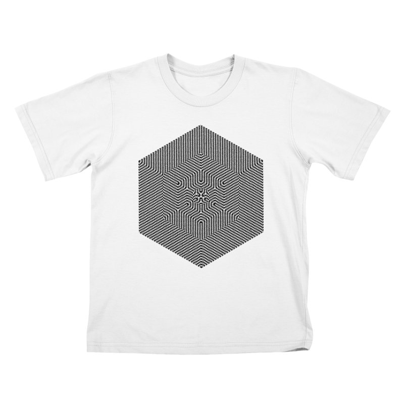 Fibonacci Cube Kids T-Shirt by BassMerch.co