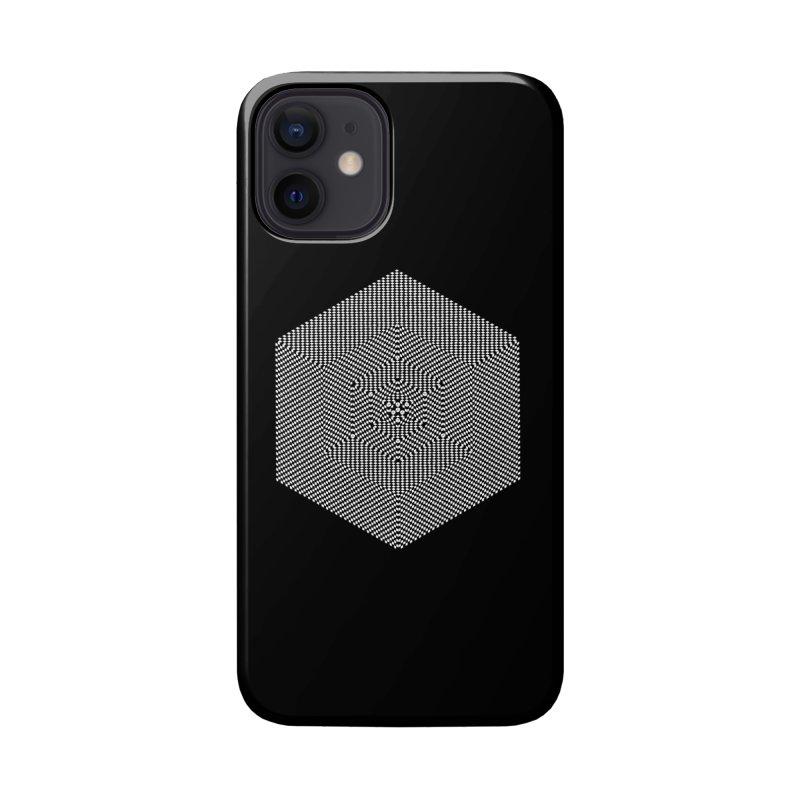 Fibonacci Cube Accessories Phone Case by BassMerch.co