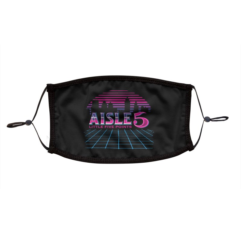 Aisle 5 (CyberWave) Accessories Face Mask by BassMerch.co