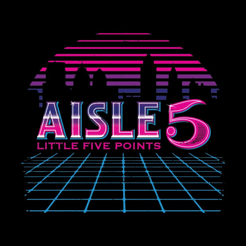 Aisle 5 (CyberWave) Men's T-Shirt by BassMerch.co