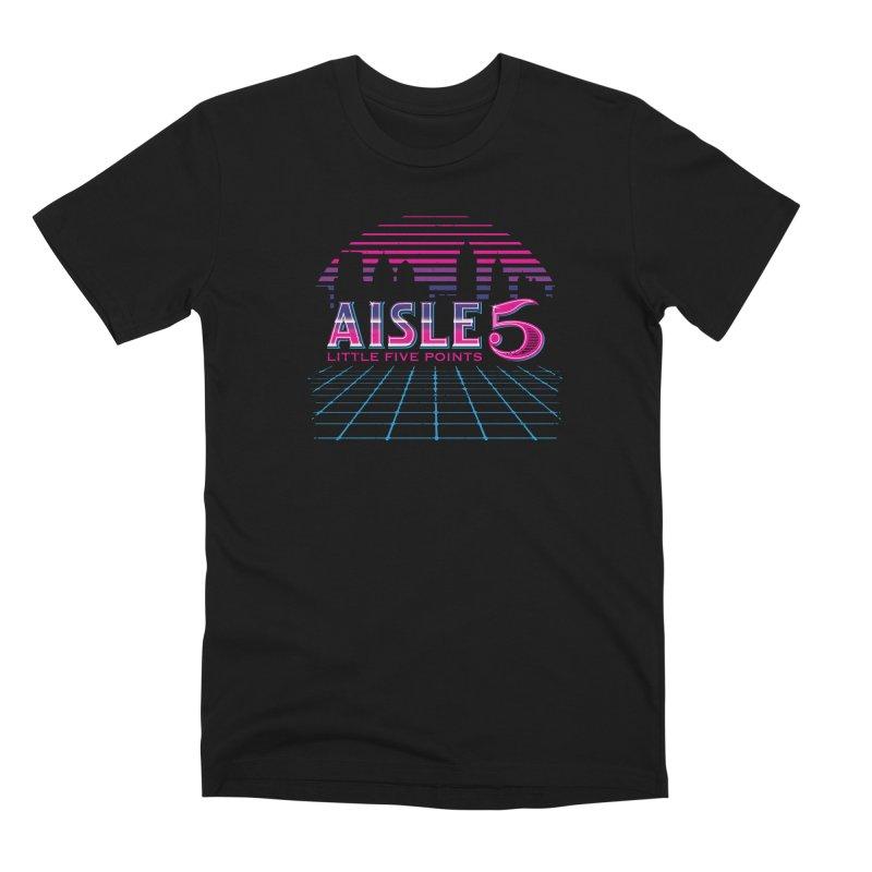 Aisle 5 (CyberWave) Men's T-Shirt by BassMerch.co