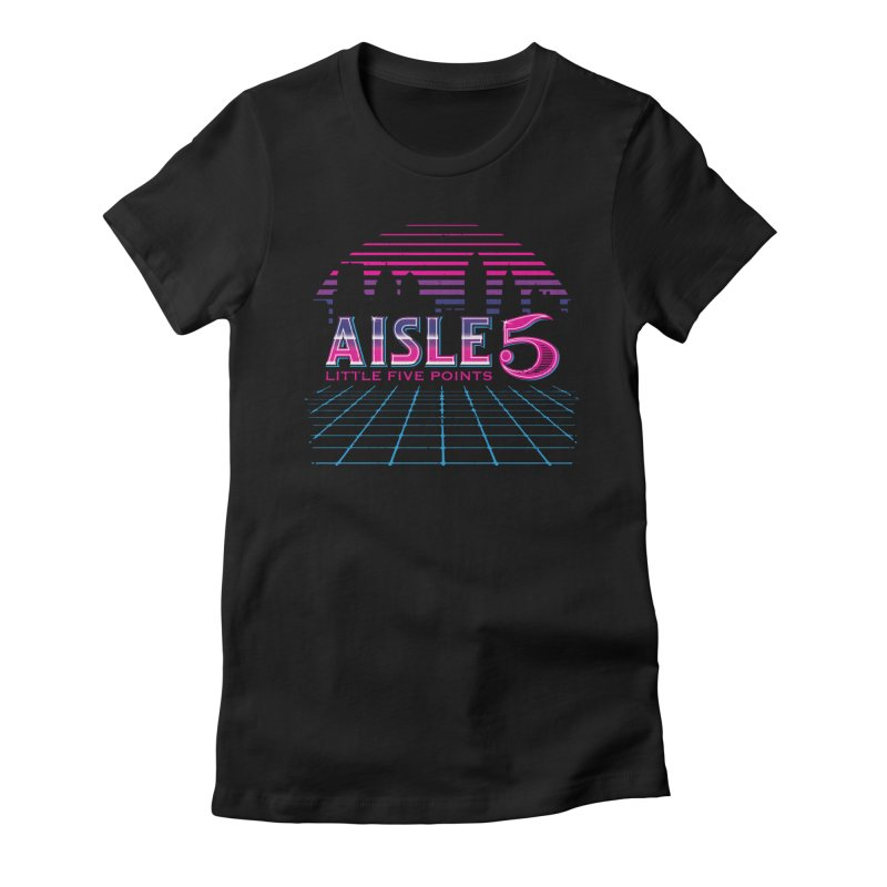 Aisle 5 (CyberWave) Women's T-Shirt by BassMerch.co