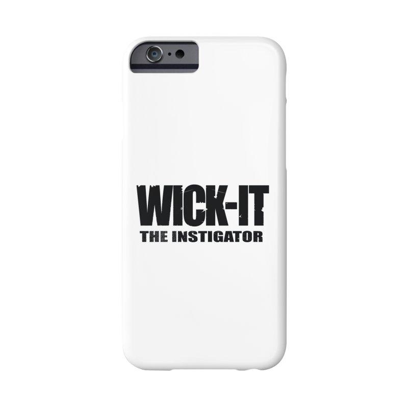 Wick-It The Instigator Logo (b) Accessories Phone Case by BassMerch.co