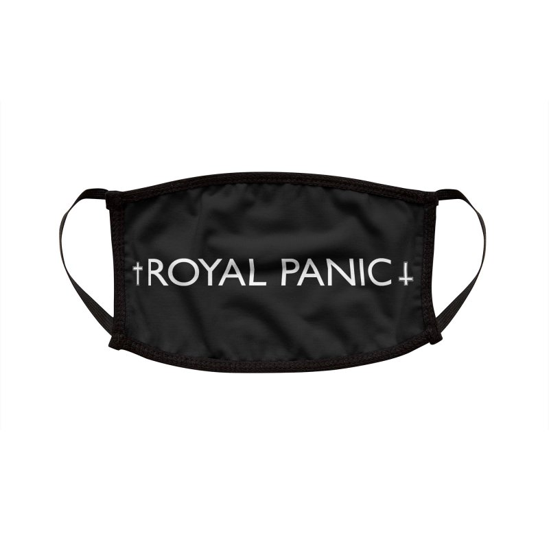 Royal Panic Logo (w) Accessories Face Mask by BassMerch.co