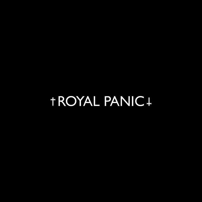 Royal Panic Logo (w) Men's Zip-Up Hoody by BassMerch.co