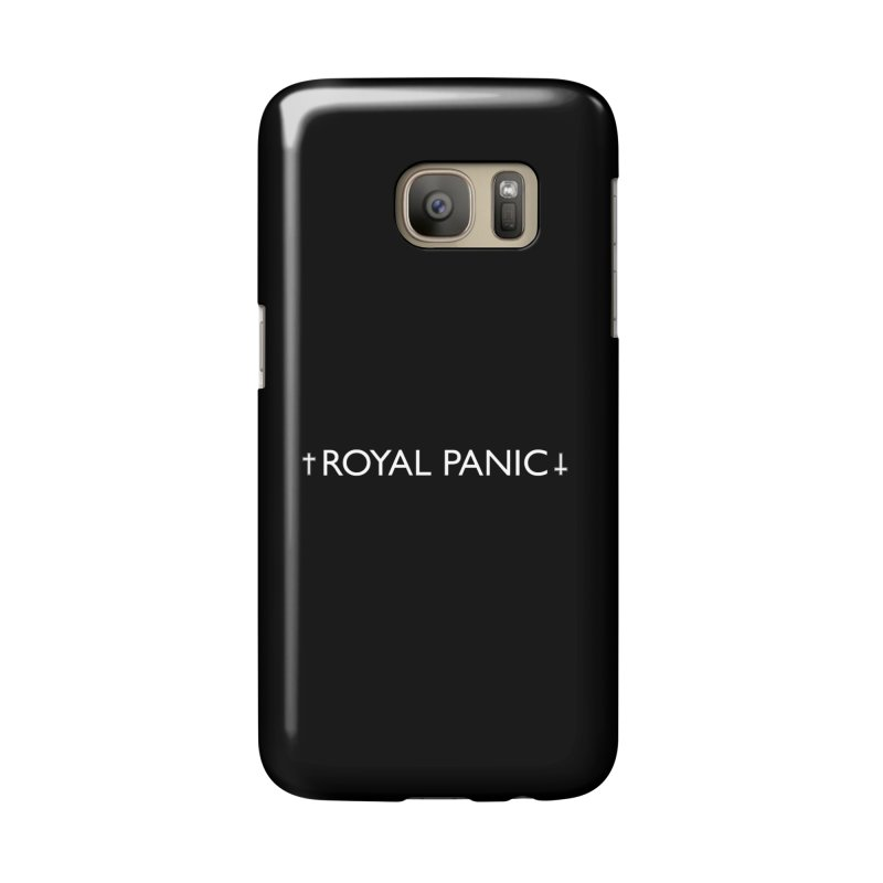 Royal Panic Logo (w) Accessories Phone Case by BassMerch.co