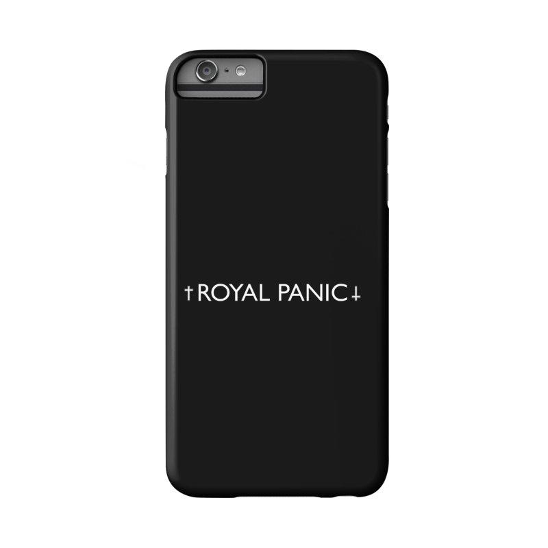 Royal Panic Logo (w) Accessories Phone Case by BassMerch.co