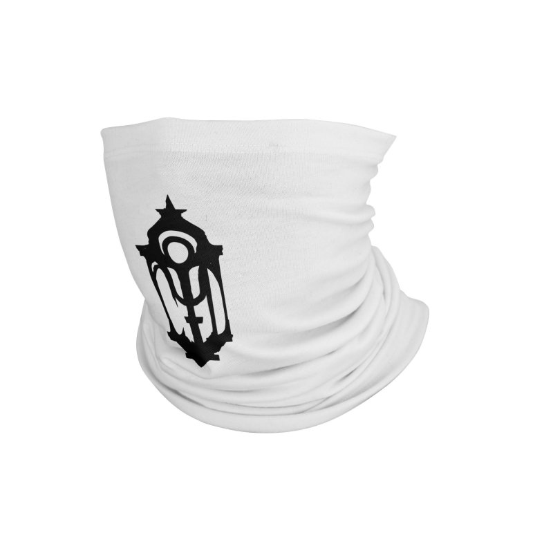 Cryptic District Logo (b) Accessories Neck Gaiter by BassMerch.co