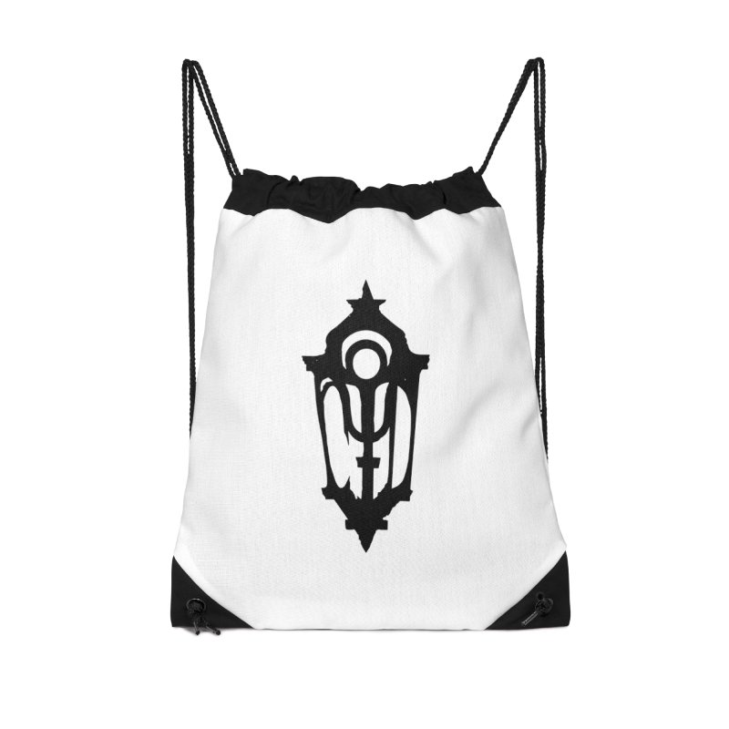 Cryptic District Logo (b) Accessories Bag by BassMerch.co