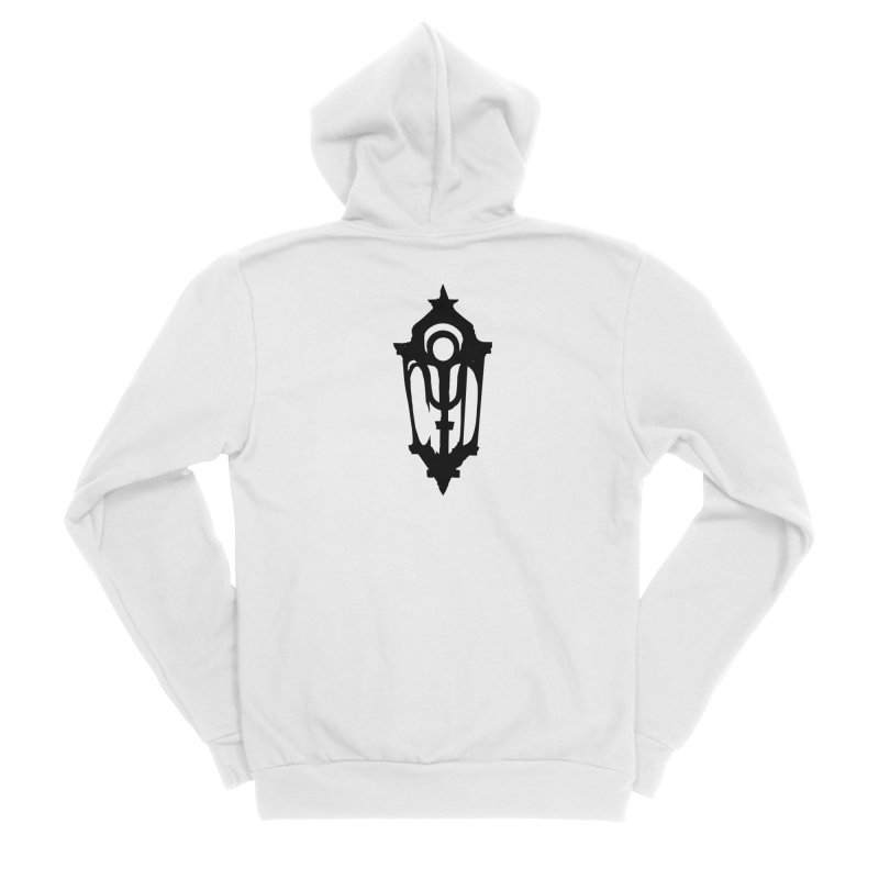Cryptic District Logo (b) Men's Zip-Up Hoody by BassMerch.co