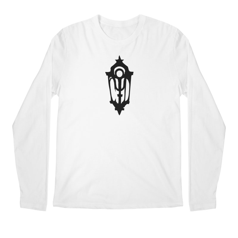 Cryptic District Logo (b) Men's Longsleeve T-Shirt by BassMerch.co