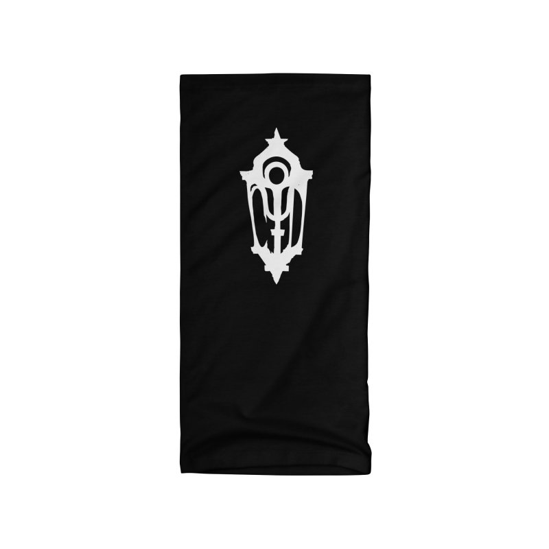 Cryptic District Logo (w) Accessories Neck Gaiter by BassMerch.co