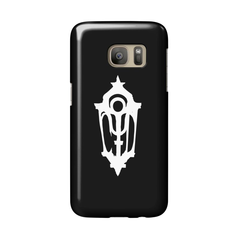 Cryptic District Logo (w) Accessories Phone Case by BassMerch.co