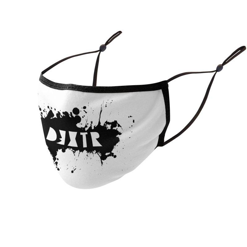 D3XTR Emblem (b) Accessories Face Mask by BassMerch.co