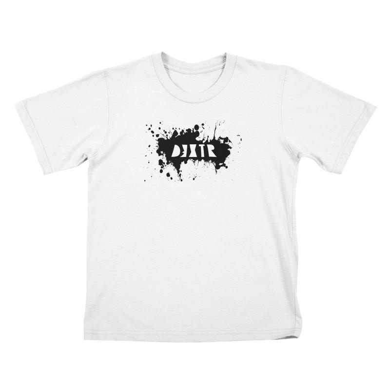 D3XTR Emblem (b) Kids T-Shirt by BassMerch.co
