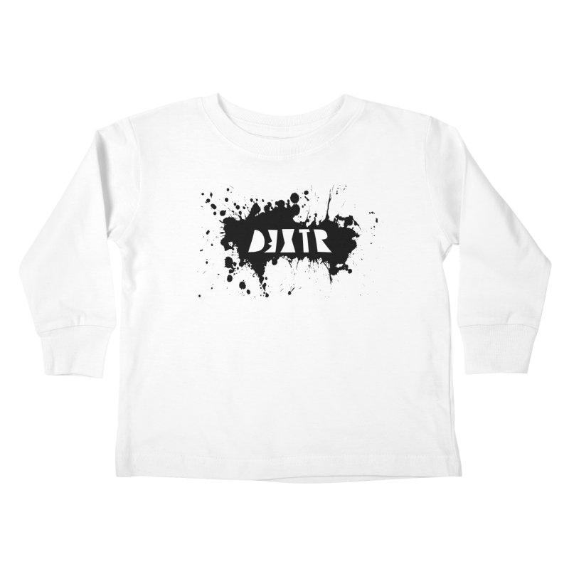 D3XTR Emblem (b) Kids Toddler Longsleeve T-Shirt by BassMerch.co