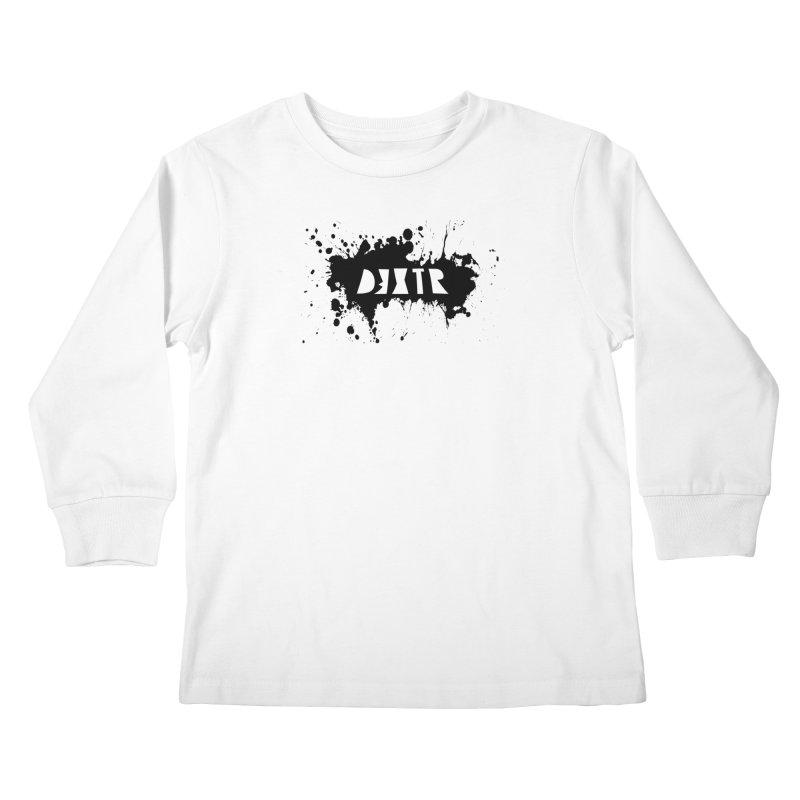 D3XTR Emblem (b) Kids Longsleeve T-Shirt by BassMerch.co