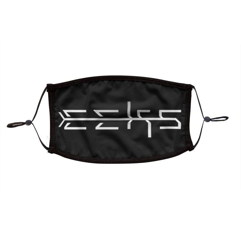 Eeks! Logo (w) Accessories Face Mask by BassMerch.co