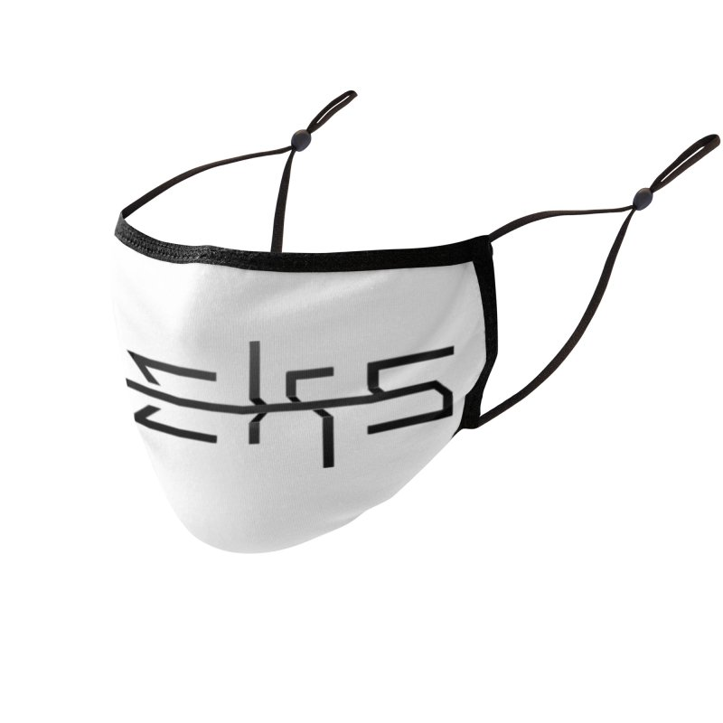 Eeks! Logo (b) Accessories Face Mask by BassMerch.co
