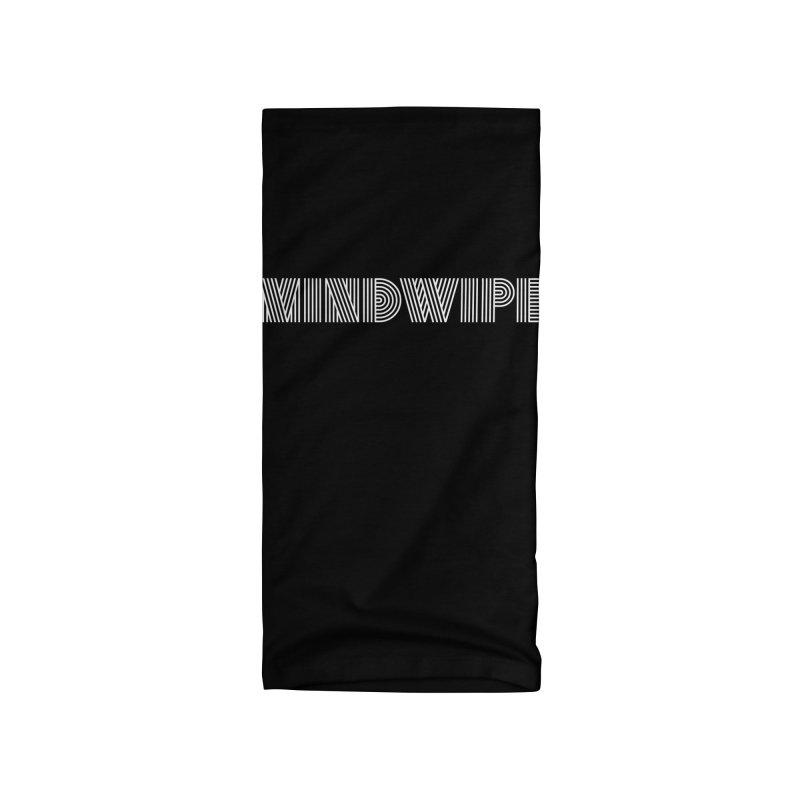 Mindwipe Logo Accessories Neck Gaiter by BassMerch.co