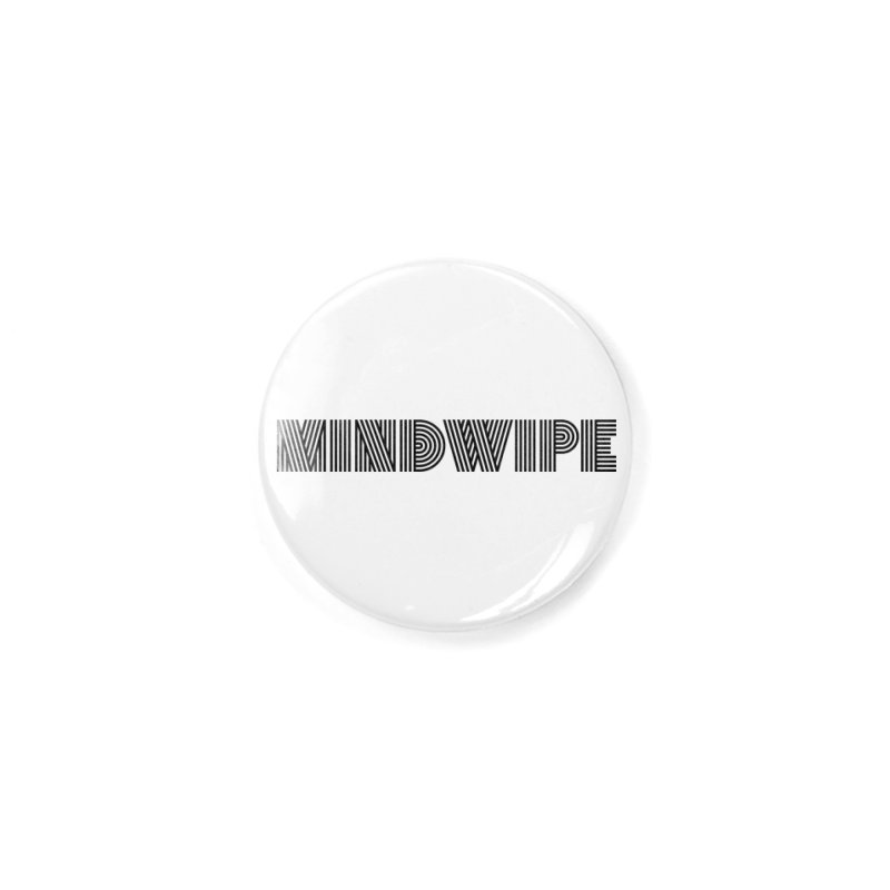 Mindwipe Logo (b) Accessories Button by BassMerch.co