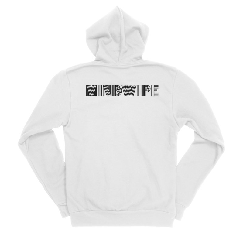 Mindwipe Logo (b) Men's Zip-Up Hoody by BassMerch.co