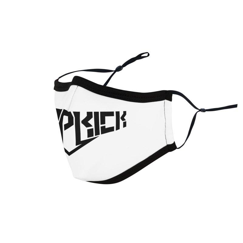 Dropkick Logo (b) Accessories Face Mask by BassMerch.co