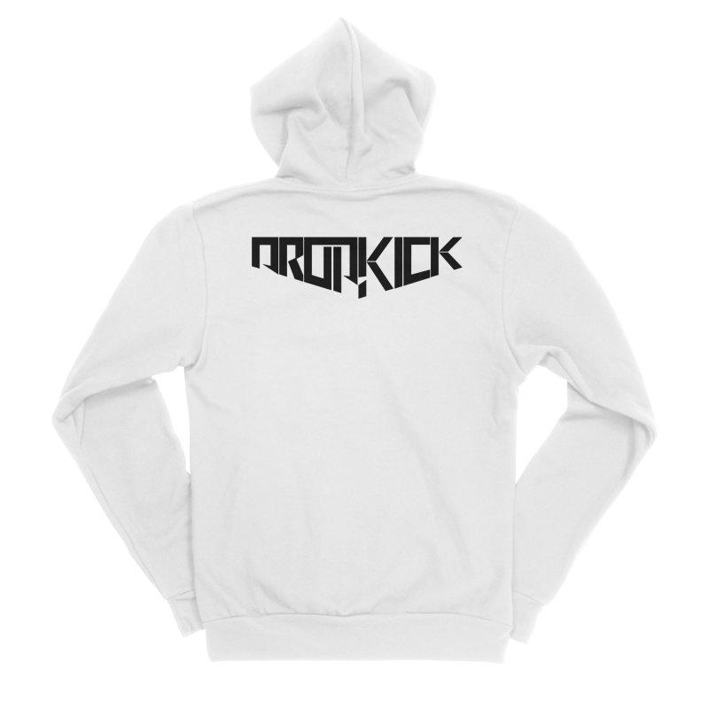 Dropkick Logo (b) Men's Zip-Up Hoody by BassMerch.co