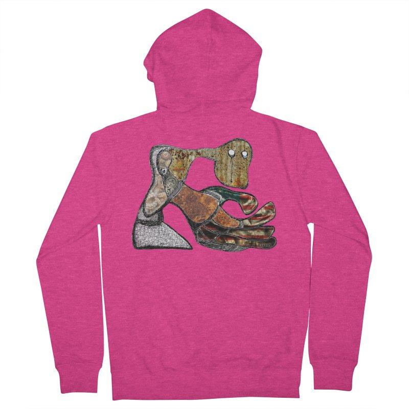 American Angst Women's Zip-Up Hoody by Baston's T-Shirt Emporium!