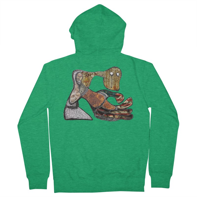 American Angst Men's Zip-Up Hoody by Baston's T-Shirt Emporium!