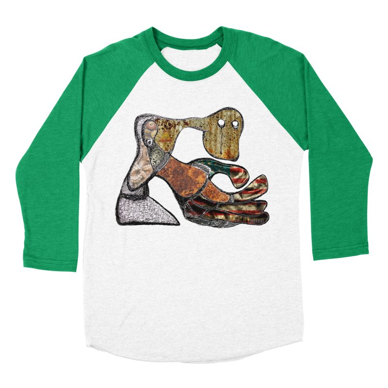 American Angst Women's Baseball Triblend T-Shirt by Baston's T-Shirt Emporium!