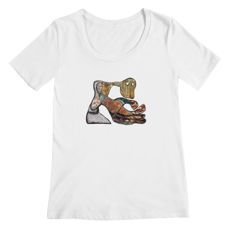 American Angst Women's Scoopneck by Baston's T-Shirt Emporium!