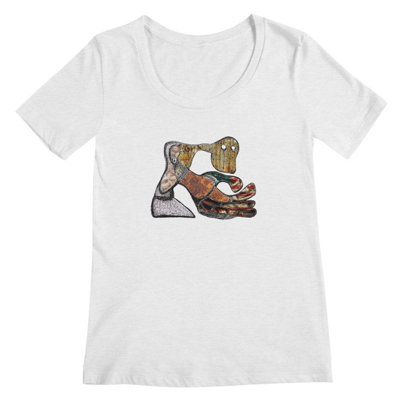 American Angst Women's Scoopneck by Baston's T-Shirt Emporium!