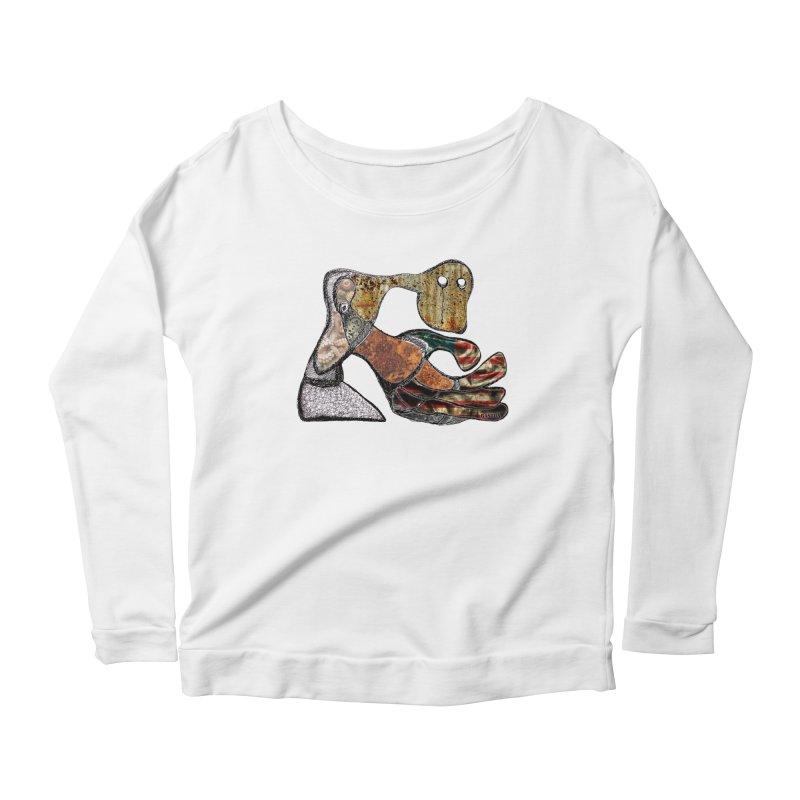 American Angst Women's Longsleeve Scoopneck  by Baston's T-Shirt Emporium!
