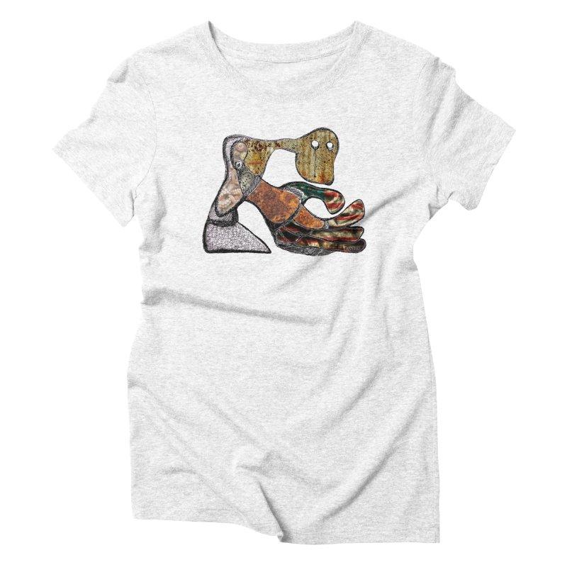 American Angst Women's Triblend T-shirt by Baston's T-Shirt Emporium!