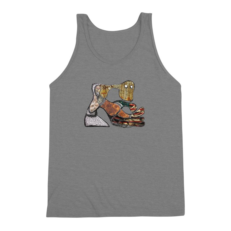 American Angst Men's Triblend Tank by Baston's T-Shirt Emporium!