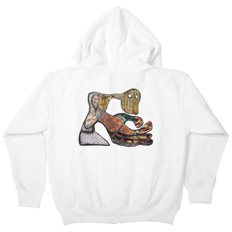 American Angst Kids Zip-Up Hoody by Baston's T-Shirt Emporium!