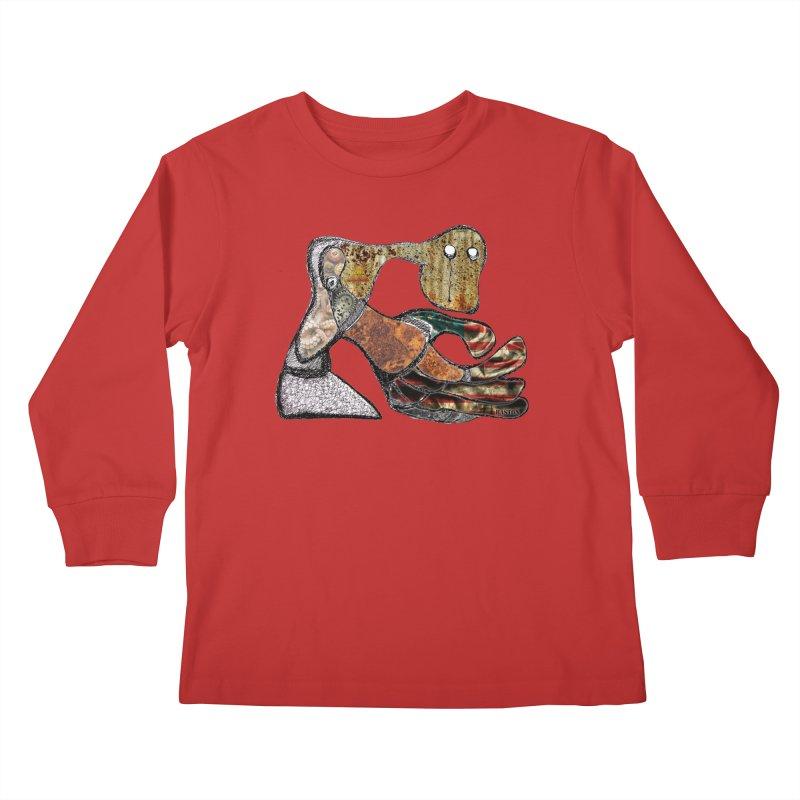 American Angst Kids Longsleeve T-Shirt by Baston's T-Shirt Emporium!
