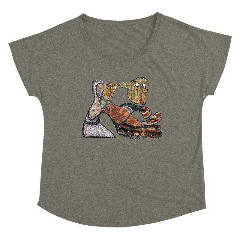 American Angst Women's Scoop Neck by Baston's T-Shirt Emporium!