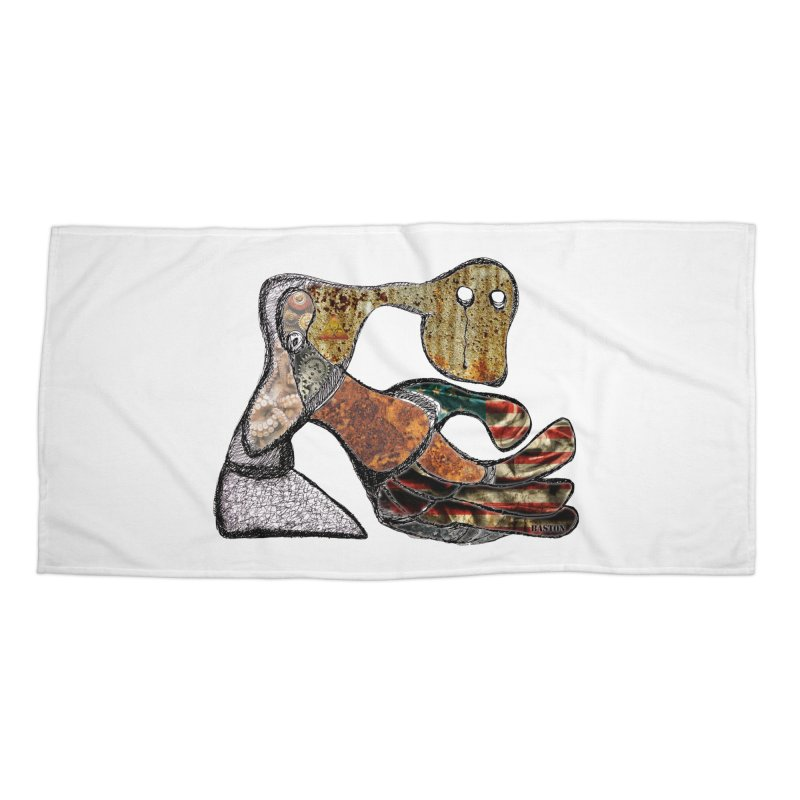 American Angst Accessories Beach Towel by Baston's T-Shirt Emporium!