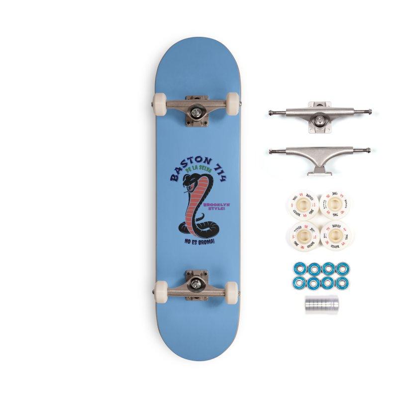 De La Selva! Accessories Complete - Premium Skateboard by Baston's T-Shirt Emporium!
