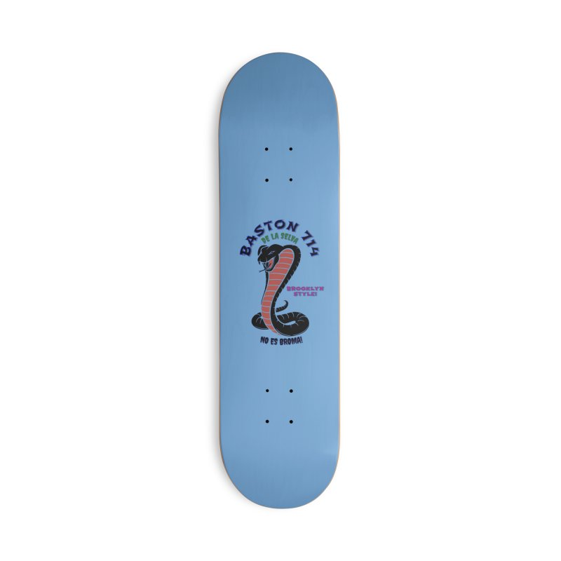 De La Selva! Accessories Deck Only Skateboard by Baston's T-Shirt Emporium!
