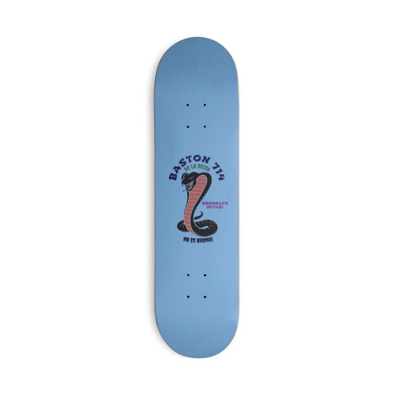 De La Selva! Accessories Skateboard by Baston's T-Shirt Emporium!
