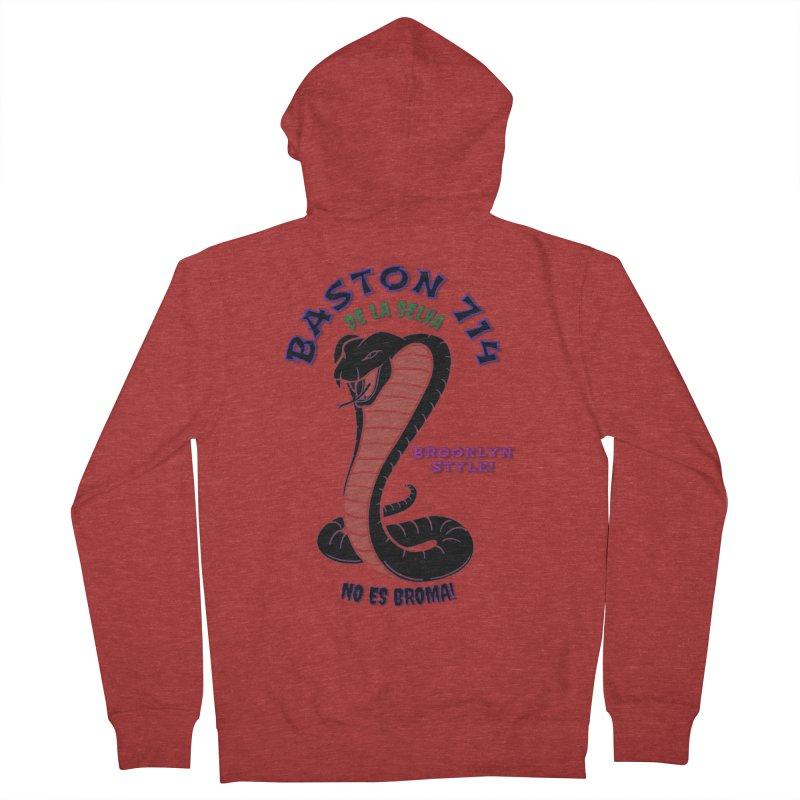 De La Selva! Men's French Terry Zip-Up Hoody by Baston's T-Shirt Emporium!