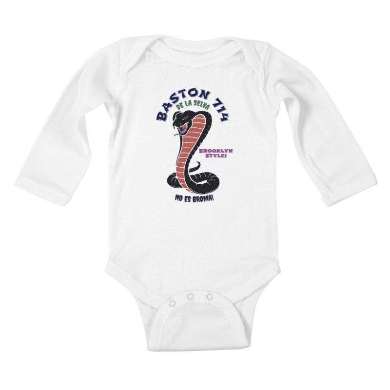 De La Selva! Kids Baby Longsleeve Bodysuit by Baston's T-Shirt Emporium!