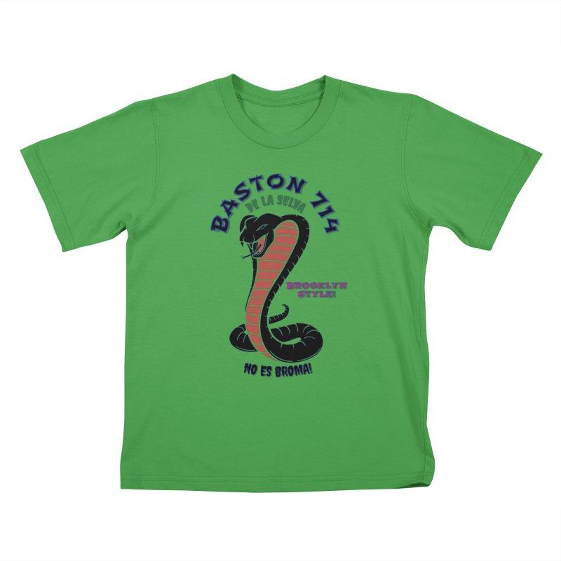 De La Selva! Kids T-Shirt by Baston's T-Shirt Emporium!