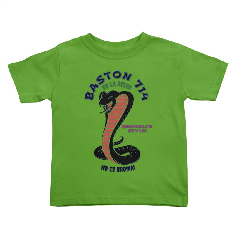 De La Selva! Kids Toddler T-Shirt by Baston's T-Shirt Emporium!