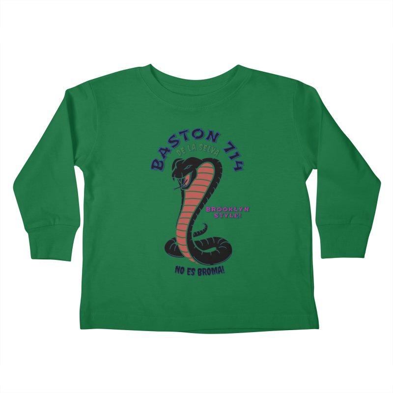 De La Selva! Kids Toddler Longsleeve T-Shirt by Baston's T-Shirt Emporium!