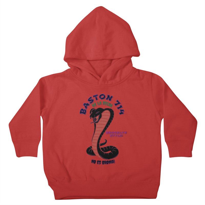 De La Selva! Kids Toddler Pullover Hoody by Baston's T-Shirt Emporium!