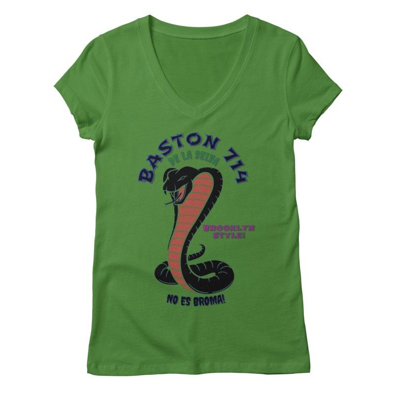 De La Selva! Women's Regular V-Neck by Baston's T-Shirt Emporium!